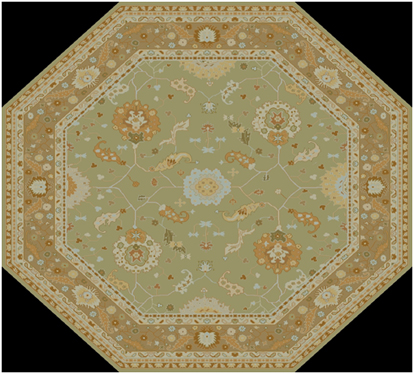 How To Design a Custom Rug from an Antique Reproduction Carpet