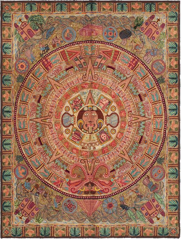 Creating Beautiful And Colorful American Hooked And Sewn Rugs Is Both An  Art And A Craft, Forming Some Of The Most Desirable Decorative Pieces Made  In North ...