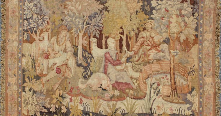 Enchanting Pictorial Tapestries from France